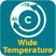 Wide Temperature -40°C~70°C