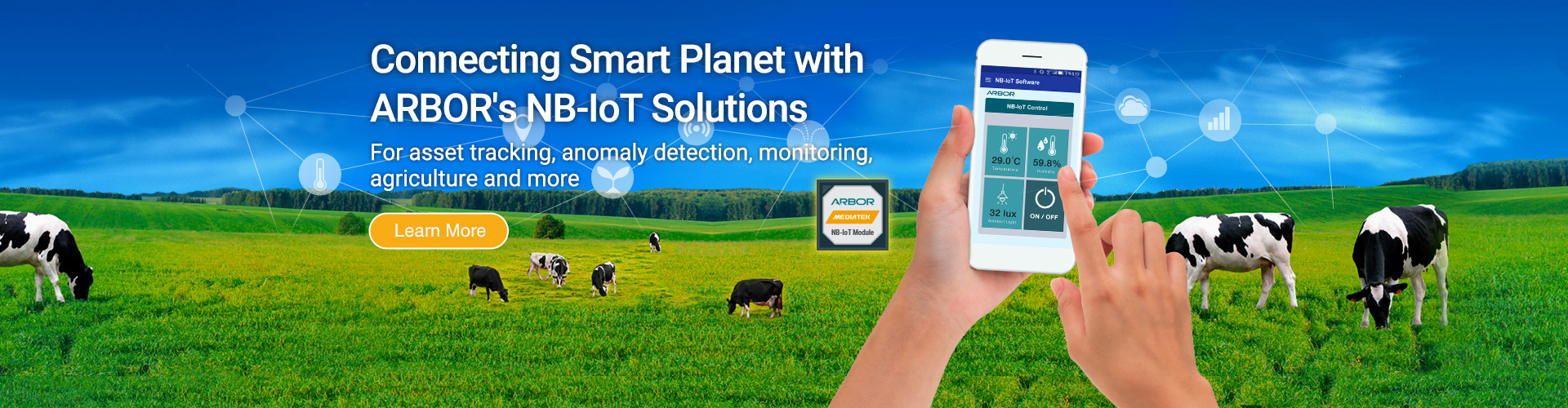 ARBOR's IoT Solutions with NB-IoT